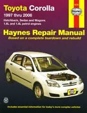 Corolla Car Service & Repair Manuals | eBay