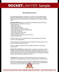 sample cleaning contract agreement housekeeping contract agreement template with sample