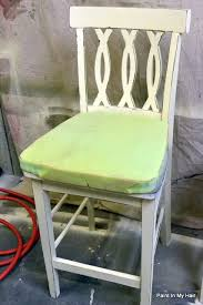 adding a padded seat to a chair without a removable seat