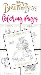 Free Printable Beauty And The Beast Coloring Pages This Fairy Tale