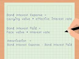 amortizing bond discount how to calculate carrying value of a bond with pictures