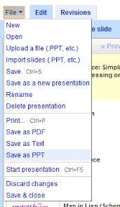 Google Docs Powerpoint Export Google Presentations To Powerpoint