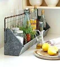countertop vegetable storage bin kitchen organization tips
