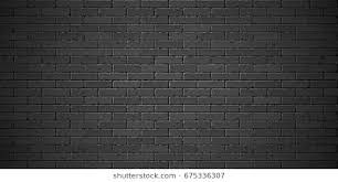 black brick texture. Black Brick Wall Texture Vector Illustration