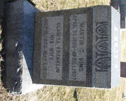 Martin C Sims (1826-1907) - Find A Grave Memorial