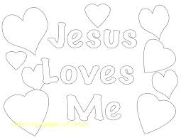 Present Jesus Loves You Coloring Page S6122 Excellent Jesus Loves Me