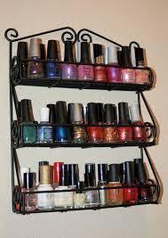 small nail polish display rack