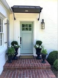 front door awningFront Door Awnings Front Door Awnings Wood Front Door Canopy Ideas