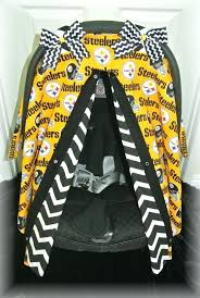 steelers car seat cover car seat canopy car seat cover by steelers car seat covers