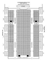 Nashville Symphony Orchestra Seating Chart Standard Theatre Orchestra Level Nashville Symphony
