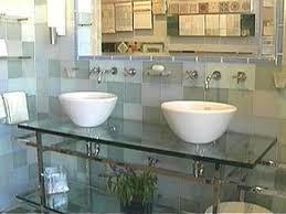 Glass For Bathroom Design Your Bathroom In Glass Hgtv