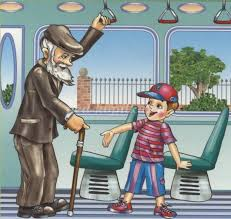 ⛳ Правила поведения в общественных ⛪ местах для детей  Вежливость в транспорте