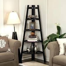 corner ladder shelf with black and floor lamp sofa behind couch lamps corner ladder shelf with black and floor lamp sofa behind couch lamps