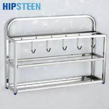 Steel Shelf For Kitchen Popular Hanging Kitchen Shelf Buy Cheap Hanging Kitchen Shelf Lots
