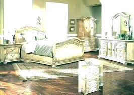 Distressed Wood Bedroom Set Distressed Wood Bed Frame Small Images ...