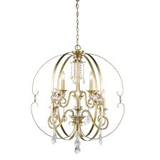 golden lighting ella 9 light white gold chandelier