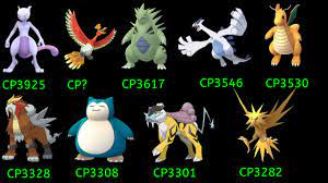 Pokemon Go S-Tier (Max CP for level 38) - YouTube