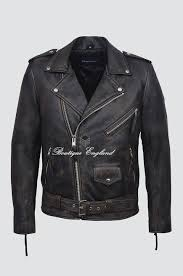 brando slim fit men s sr m black rub off designer real lambskin leather biker jacket