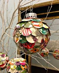 diy christmas decorations made from paper diy christmas ornaments