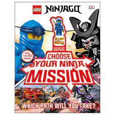 LEGO Ninjago Choose Your Ninja, Mission with Jay Minifigure – The Brick  Show Shop