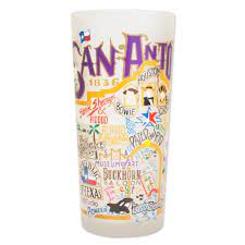 San Antonio Drinking Glass | Texas Collection by catstudio – catstudio