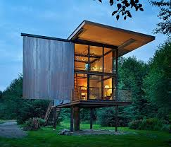 Small Picture Low Maintenance Prefab Tiny Steel Country Cabin iDesignArch