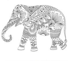 Animal Mandala Coloring Pages Hand Drawing Free Printable Coloring