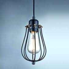 caged lighting fixtures wire cage light pendant lights inspiring fixture l