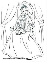 Little Princess Coloring Pages Fashionadvisorinfo