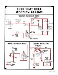 1972 imperial & chrysler seat belt warning system service repair green seat belt light wiring diagram Seat Belt Light Wiring Diagram #23