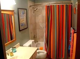 long shower curtain classic grey fabric