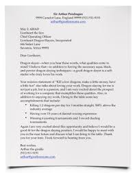 write a good cover letter the perfect cover letter example