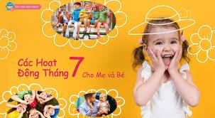 Sự kiện dành cho mẹ và bé trong tháng 7 - Dạy con kiểu nhật