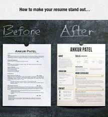 Make your resume stand out
