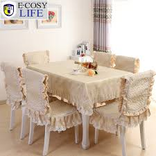 household dining table set christmas snowman knife: e cosy life new arrival christmas table cloth beige luxury lace tableclothes rectangle dining chair