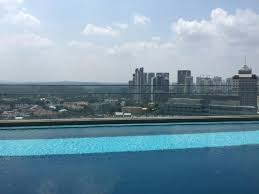 infinity pool singapore hotel. Oasia Hotel Novena, Singapore By Far East Hospitality: Infinity Pool