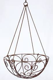 Endearing Bronze Wire Hanging Basket Ideas Along With Hanging Wire Basket  in Wire Hanging Baskets