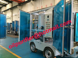 high voltage vacuum transformer oil filtration machine insulation oil filtering equipment filter dirty oil