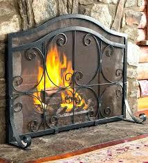 large fireplace screen rustic fireplace screen large fireplace screens flat guard fire screen fireplace accessories tools large fireplace screen