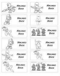behavior checklist quick easy note home for someone who s ninjago behavior bucks for use a behavior modification program give out 1 buck