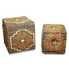 leather footstool storage kilim ottoman kilim ottoman coffee table