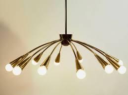 12 arm chandelier 1950s 1