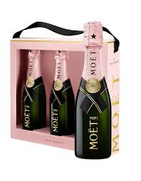 wine gifts wine gifts sets packs david jones moet mini rose tri pack