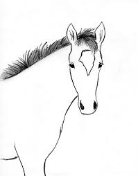horses drawings. Fine Horses Horse Drawing Step By With Horses Drawings I