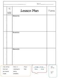 Lesson Plan Outline Foreign Language Lesson Plan Template Block Schedule La Escuelita