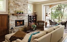 Delighful Interior Design Living Room Warm Image Credit Jenni Leasia And Ideas