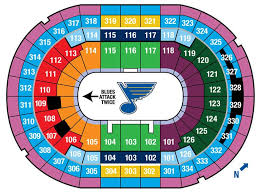 St Louis Blues Seating Chart Detailed Lets Go Blues Scottrade Center Seat Locator Seating