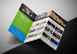 Ebrochure Template Free Tri Fold Brochure Template For Events Festivals Psd