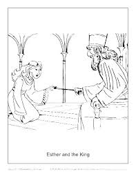 Brave Queen Esther Coloring Pages Bible Coloring Pages Queen
