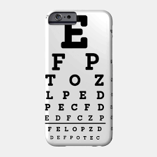 Eye Test Chart For Phone Limited Edition Exclusive Snellen Eye Test Chart
